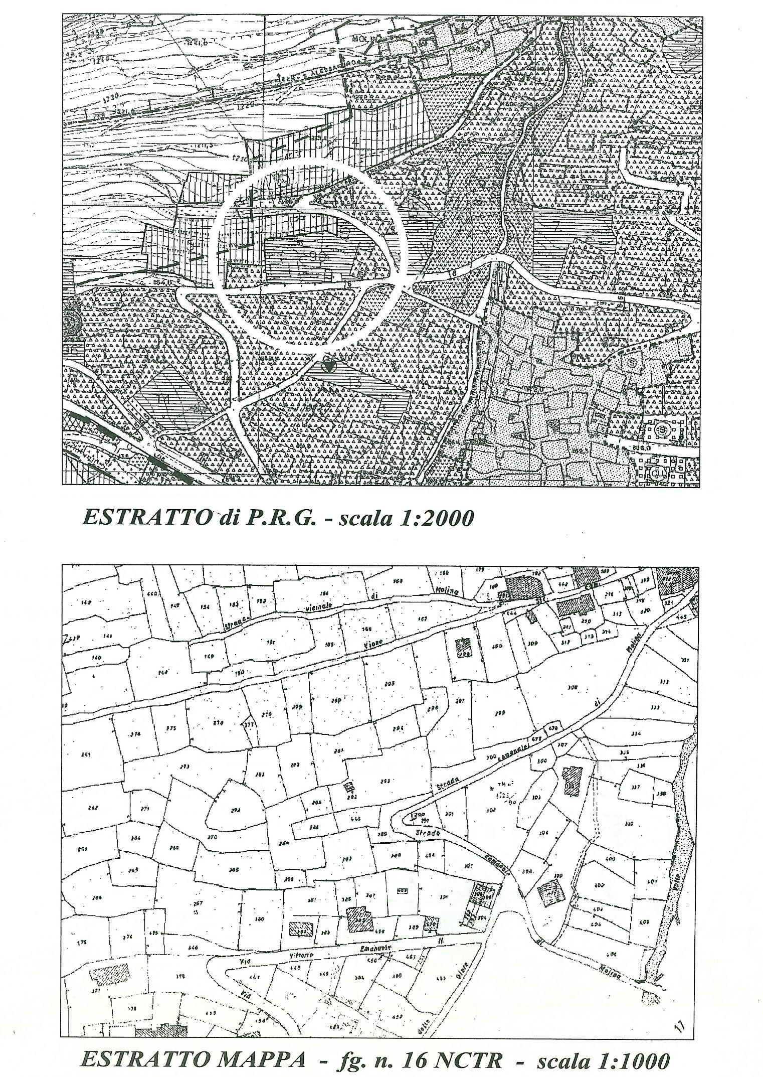 estratto mappa