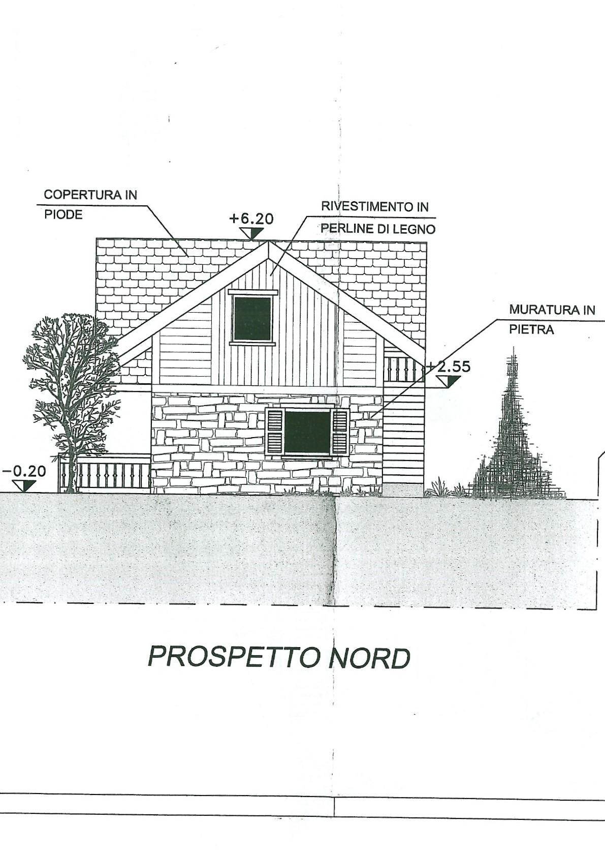 prospetto nord