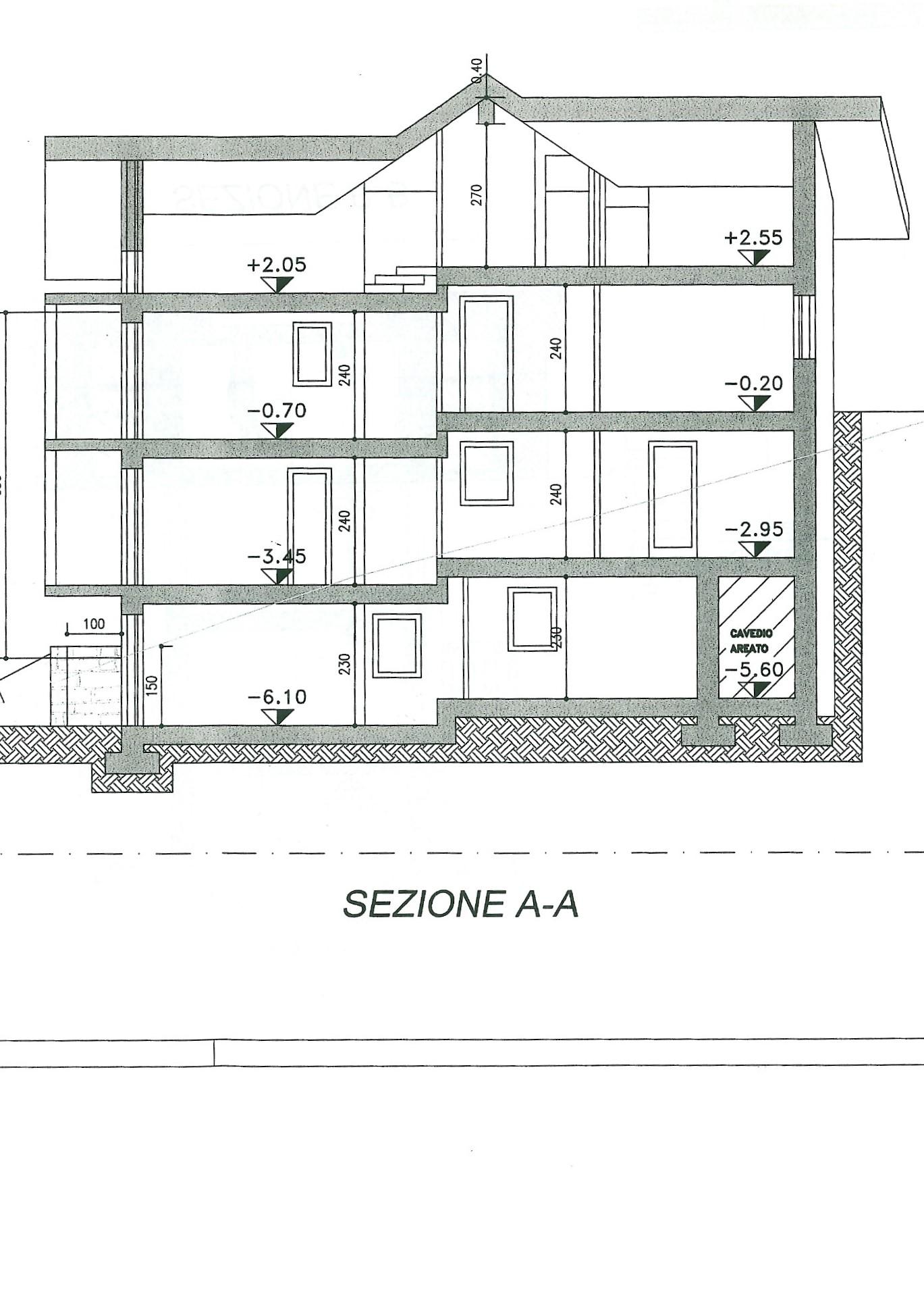 sezione a-a